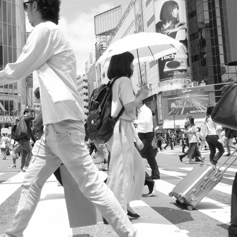 Monochrome Tokyo