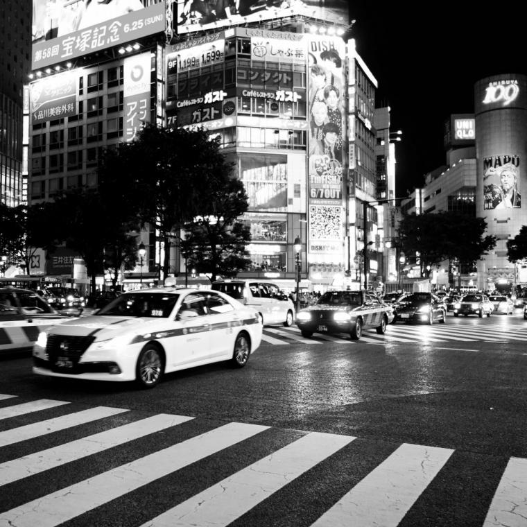 Tokyo _ Shibuya at night