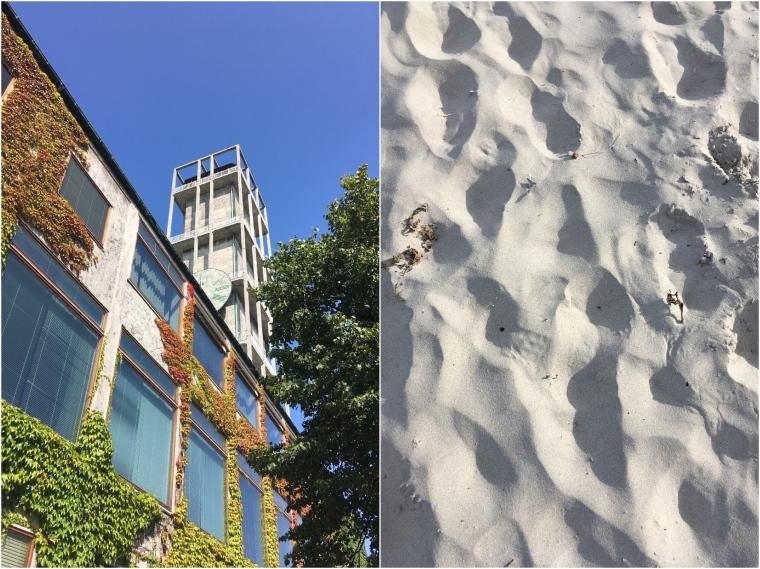Aarhus Rådhus and Sand