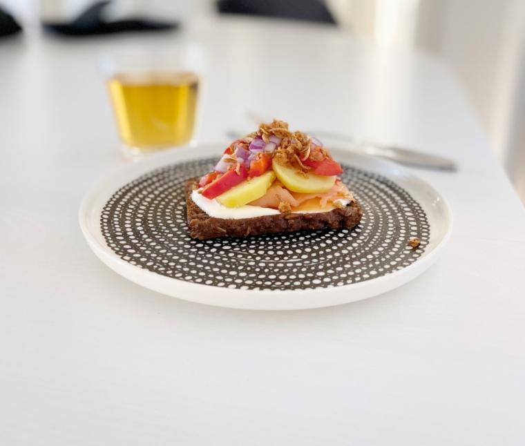 smørrebrød tanskalaiseen tapaan