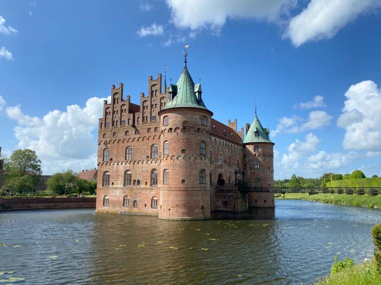Egeskov slot Denmark Fyn